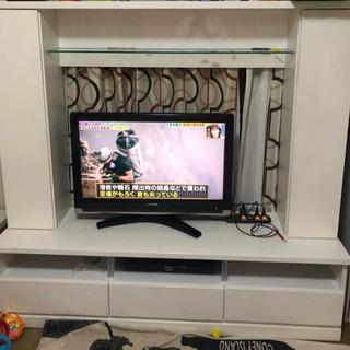 160cm幅 大川家具 テレビボード テレビ台 収納付き