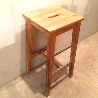 【売約済み🙏】【格安】⭐️IKEA(イケア)木製カウンターチェア...