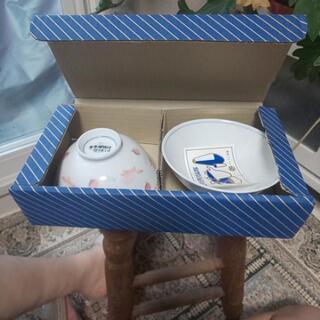 茶碗二個組 高級美術陶磁器