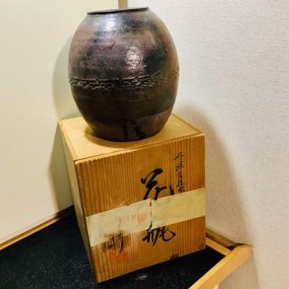 古い 丹波立坑焼⁉️花瓶 巧‼️