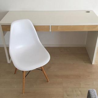 IKEA イケア デスク & リプロダクト シェルチェア