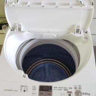 キレイです☆2014年製SHARP洗濯機☆いつもお安く♪ - 家具