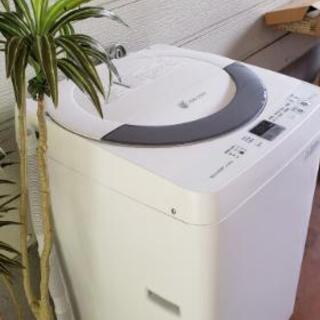 キレイです☆2014年製SHARP洗濯機☆いつもお安く♪ - 柏原市