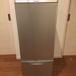 パナソニック ノンフロン冷蔵庫 2013年製 NR-B175W-S