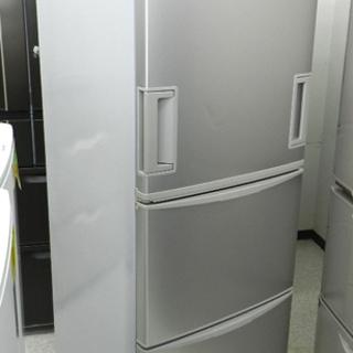 SHARP 3ドア冷蔵庫 345L 2008年製 SJ-WA35P...