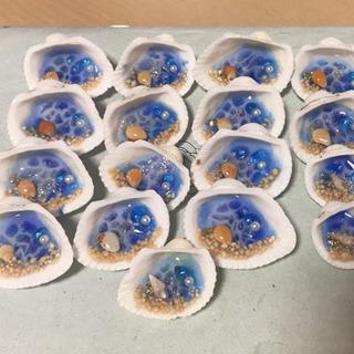 貝殻の中に海  ハンドメイド作品 1つのお値段です