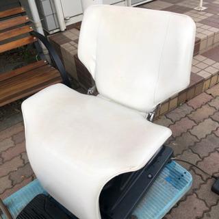 ヘアサロン、美容室、シャンプー椅子