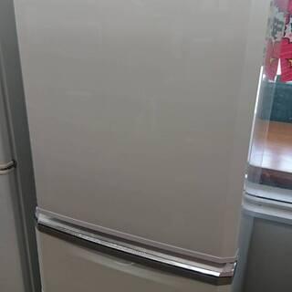 三菱 340リッター 自動製氷機付き 3ドア冷蔵庫 35,000円