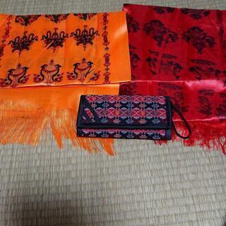 ネパール製 財布&布 生地