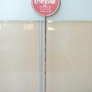 古い コカコーラ ファンタ ブリキ 回転 看板 ビンテージ雑貨