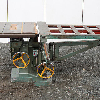 BAN 伴鐵工所 両頭式軸傾斜横切盤? 丸鋸盤 昇降盤 SC-1...