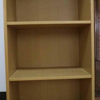 木製カラーボックス 3段