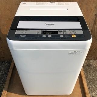 【近郊配送無料】Panasonic 5.0kg 洗濯機 2013年製