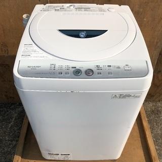 【近郊配送無料】2014年製 SHARP 4.5kg 洗濯機 E...