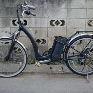 フル電動自転車、アクセル走行可能☆