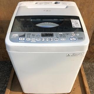 【近郊配送無料】6.0kg 洗濯機 東芝 AW-60SDF