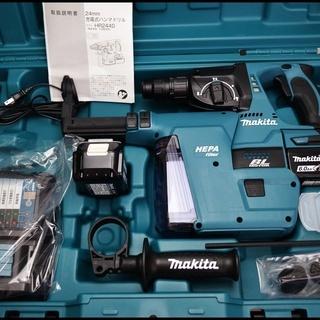 新品 マキタ HR244DRGXV 24mm 充電式ハンマドリル ...