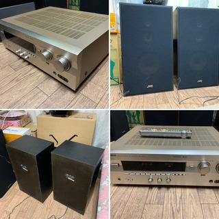 ヤマハ AVアンプとJVCスピーカーセット