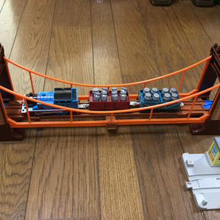 プラレール トーマス グラグラ吊り橋