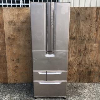 ファミリー向け401L 6ドア冷蔵庫 日立 R-KF40RPAM