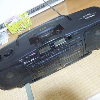 バブルラジカセ ビクター Gホーン EX CD動作OK