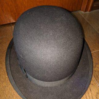 ヴィンテージ 帝国ハット ボーラー/山高帽