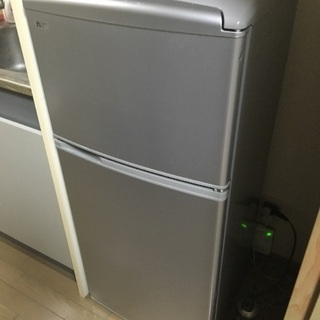 サンヨー2ドア冷凍、冷蔵庫2009年式