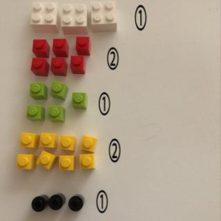 LEGO 青いバケツ 生産終了品です!