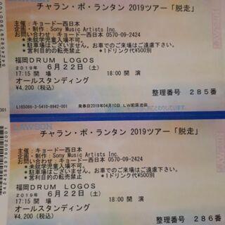 急募 チャラン・ポ・ランタン2019ツアー「脱走」