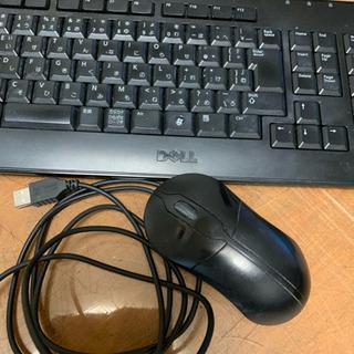 キーボード  と マウス     デル  有線