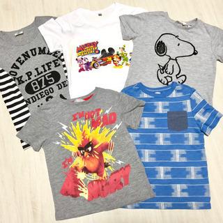 Tシャツ 男の子 まとめ売り 超お買い得 7着 スヌーピ ミッキ...