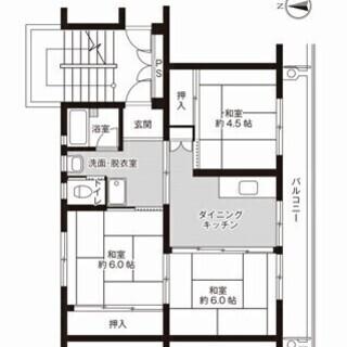 【初期費用は家賃のみ】秋田市、家賃お値下げ中で残り2部屋の3DKです【保証会社不要・保証人不要】 - 不動産