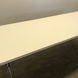 062004☆来店引取価格 会議テーブル 折りたたみ式☆