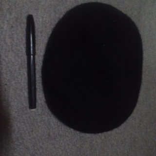 ベレー帽(黒)