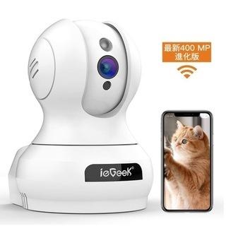 【新品・未使用】400万高画素 ieGeek ネットワークカメラ...