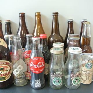 ビンテージ レトロな瓶 1本100円〜 ビン インテリア小物
