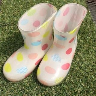 【used】14㌢ BRANSHES 女児向け 長靴
