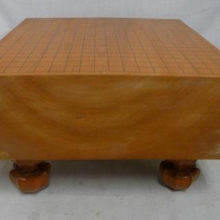 19Y0139 5 値下げ!! 囲碁 碁盤 脚付 へそ付 盤厚さ...