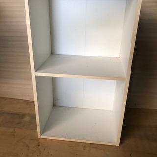 二段ボックス 白