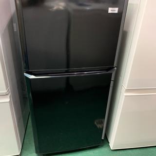 ハイアール 2ドア冷蔵庫 2014年 JR-N106R 106L 中古