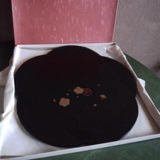 梅型 菓子皿 大きめ 未使用品