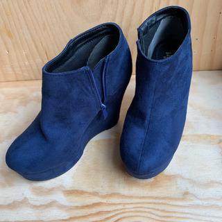 【お値下げ!!】ブーティ 靴 ヒール