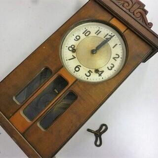 SEIKOSHA 精工舎 Sマーク 掛時計 柱時計 ボンボン時計...