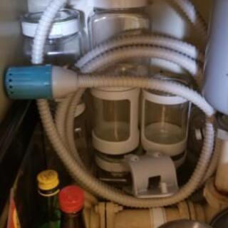 お風呂場からお湯を洗濯機に入れるホース