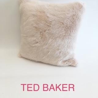 TED BAKER テッドベーカー クッション フェイクファーク...