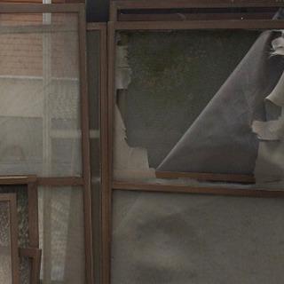 福岡網戸の張り替え 壁穴補修 一部分壁紙クロス補修いたします。福...