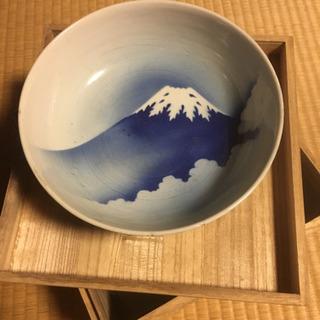 大鉢 富士山柄