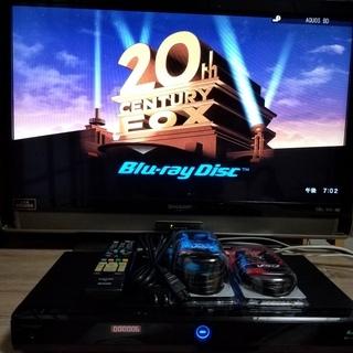 ☆スカパー!HD内蔵♪Wチューナー&500GB♪AQUOS W500☆