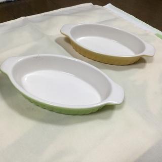 グラタン皿 楕円形