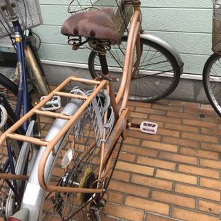 自転車 サビ、パンクあり ジャンク品